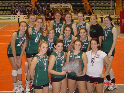 2009 Cornwall Varsity Volleyball Team.
