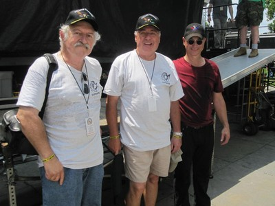 Photo by Mike Raab. Mike Raab, Jack Dougherty and Gary Sinese (