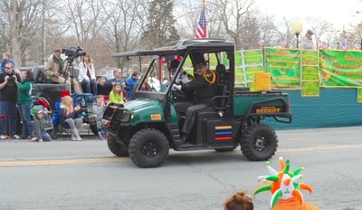 Photo by Jim Lennon. Orange County Ny Sheriff Carl. E. Dubois