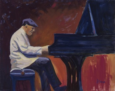 Pianist Composer McCoy Tyner by Judy Silvano