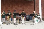 The CCMS Jazz Combo.  Photo by Steve Kessler.