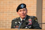 Photo by Maureen Moore. David H. Petraeus.